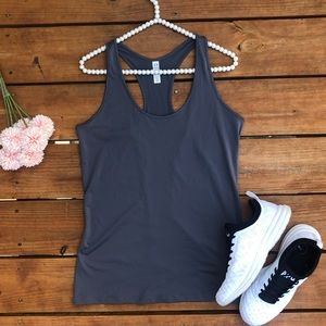 Under Armour Heat Gear Gray Workout Tank Top NWT